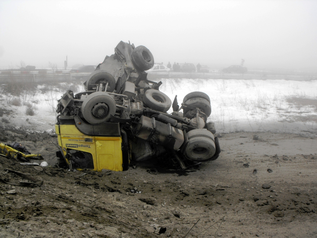 Accident Feroviar Fetesti 17-01-2013