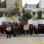 protest la prefectura