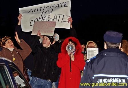 alegeri anticipate nu comasate Proteste Slobozia, ziua 3 proteste sloboyia