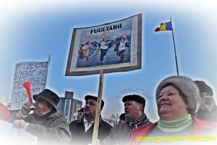 fugetarii 2 Proteste Slobozia, ziua 4