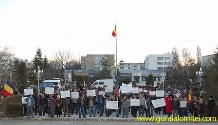 proteste slobozia ziua doi Proteste Slobozia, ziua 2