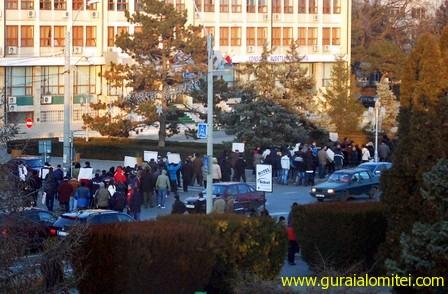 proteste slobozia Proteste Slobozia, ziua 2