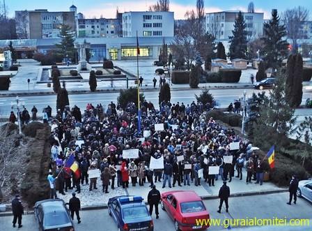 proteste ziua 3 a Proteste Slobozia, ziua 3 proteste sloboyia
