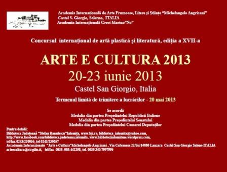 Afis Arte e Cultura