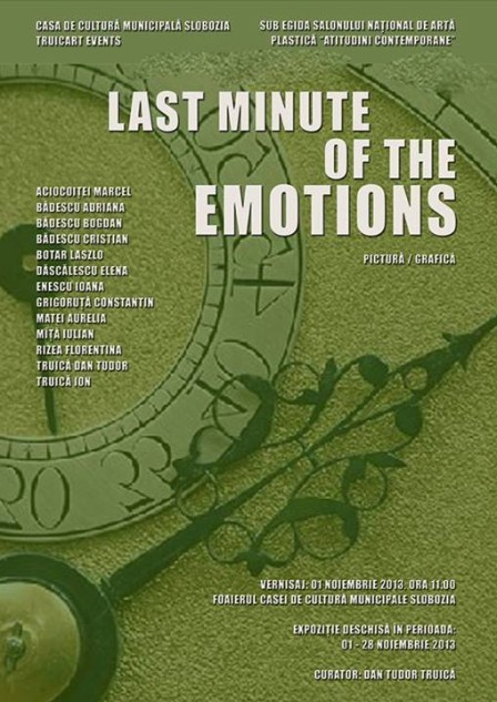 last minute of emotions