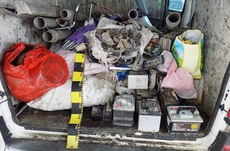 Deseuri neferoase confiscate